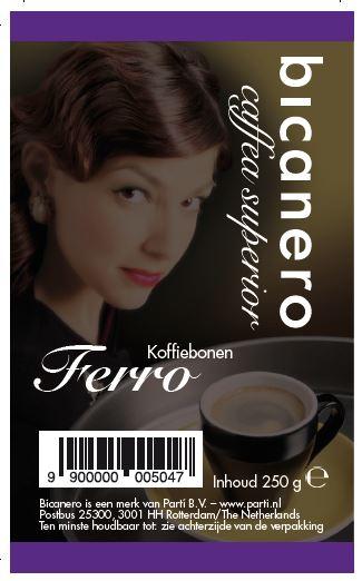 Bicanero Ferro koffie