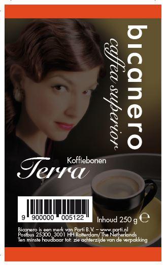 Bicanero Terra koffie