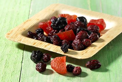Partí rood fruit