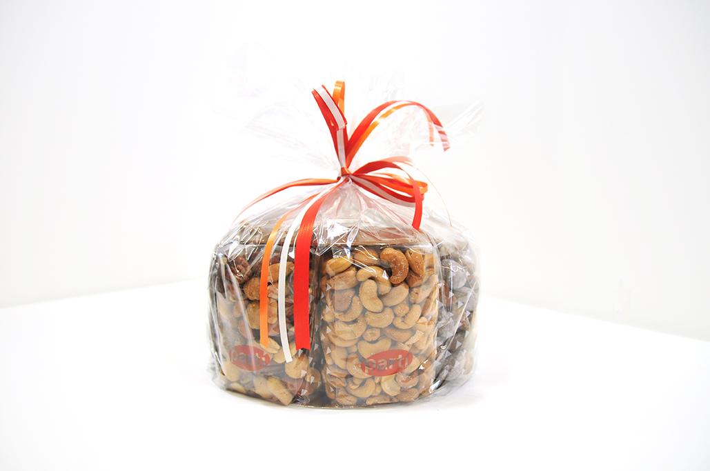 Partí noten-chocolade-´taart´ L
